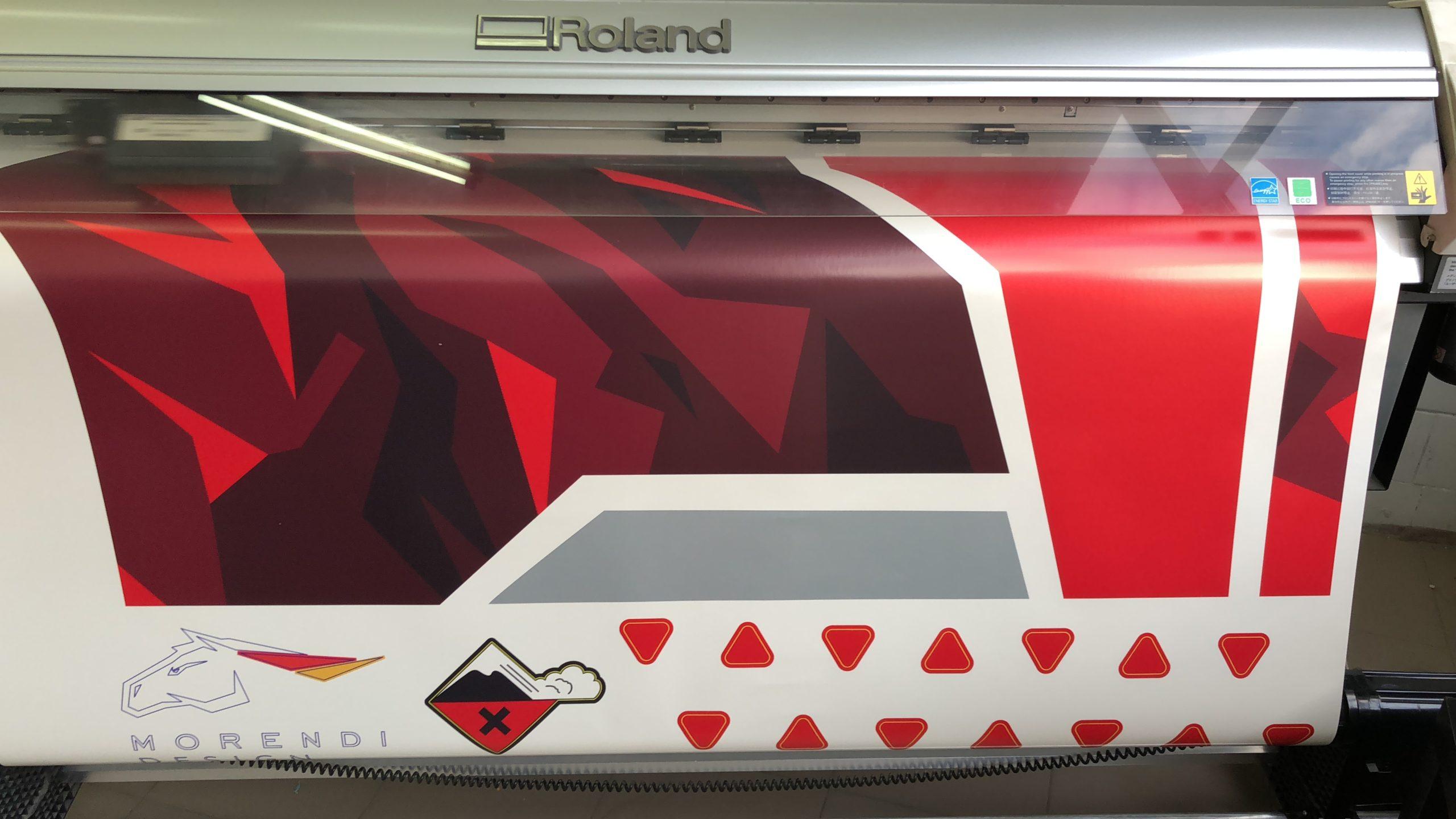 Автовинил, изготовление в Москве, рекламная компания PrintPro, заказать в Москве